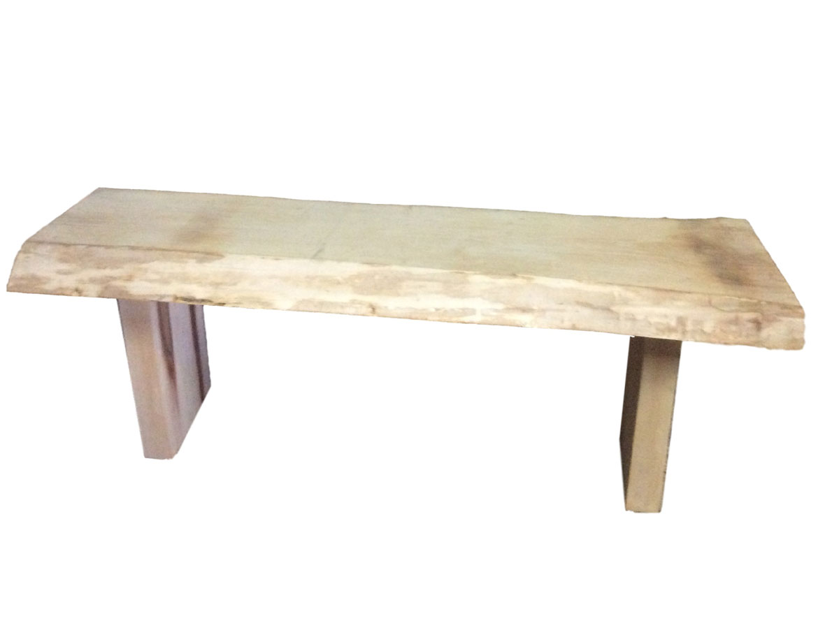Salvaged Sugar Maple bench