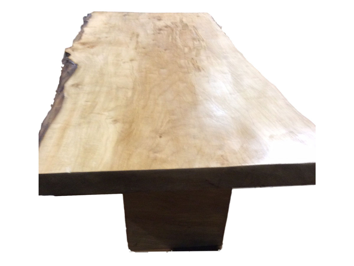 Salvaged Silver Maple coffee table