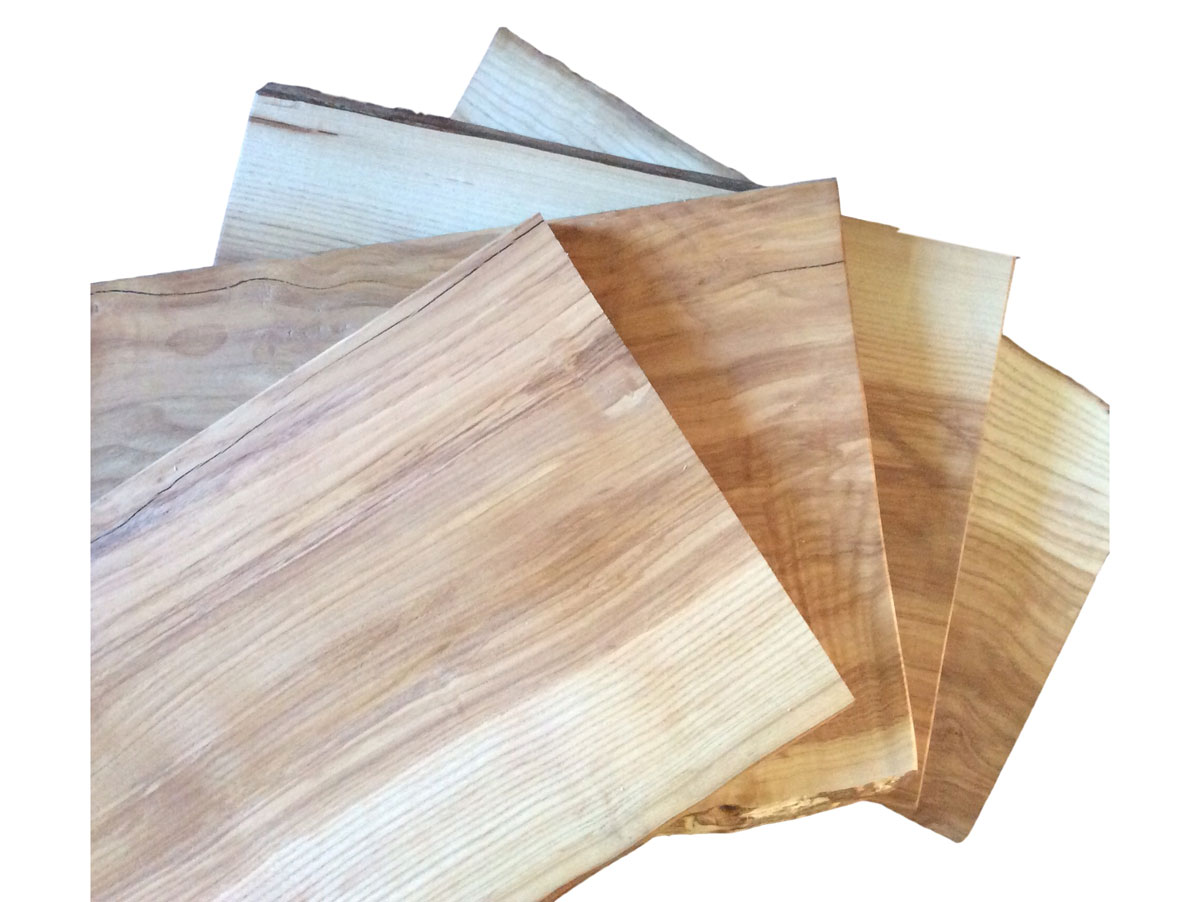 Salvaged Ash charcuterie platters / cutting boards